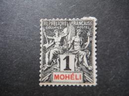 Colonies Françaises - Mohéli X1- 1 Centime - Unused Stamps
