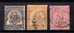 Tunisie Maury N° 5, N° 6 Et N° 15 Oblitérés. B/TB. A Saisir! - Tunisia (1888-1955)