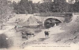 CPA LUPERSAT (23) LES BORDS DE LA TARDES - PONT DE TARDES Près LUPERSAT - ANIMEE - France