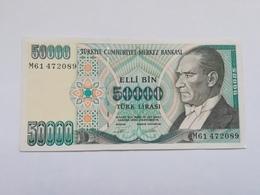 TURCHIA 50000 LIRASI 1970 - Türkei