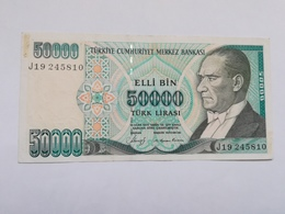 TURCHIA 50000 LIRASI 1970 - Turchia