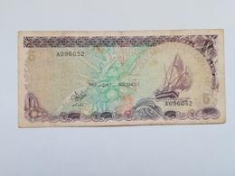MALDIVE 5 RUFIYAA 1983 - Maldives