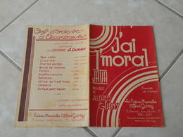 J'ai L'moral (Java)-(Paroles)-(Musique Alfred Gurny)Partition Pour Orchestre - Compositeurs De Musique De Film