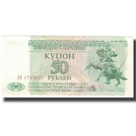 Billet, Transnistrie, 50 Rublei, 1993, 1993, KM:19, TTB+ - Moldavie