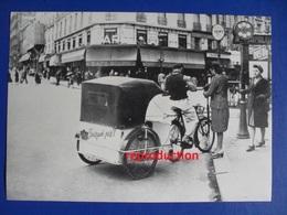"""Vélo-taxi  """" Pourquoi Pas? """"dans Paris 1941, Seconde Guerre Mondiale - Reproductions"""