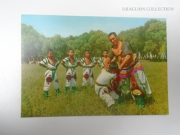 D163810 China Inner Mongolia - Traditional Sports  -Wrestling -Wrestlers - Festival  Ca 1970's - Mongolia