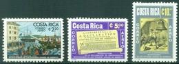 Costa Rica -  1976 - Yt PA 663/665 - Bicentenaire De L'Indépendance Des Etats Unis - ** - Costa Rica