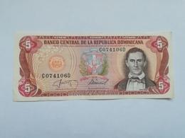 REPUBBLICA DOMINICANA 5 PESOS ORO - Repubblica Dominicana
