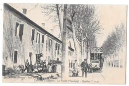 LE PONTET - Environs D'Avignon - Quartier Saint-Jean (beau Plan, Tramway Pour Sorgues, Publicité Oxygénée Cusenier) - Le Pontet