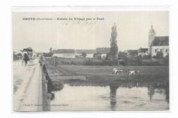 70 - BROYE ( Haute-Saône ) - Entrée Du Village Par Le Pont. - Autres Communes