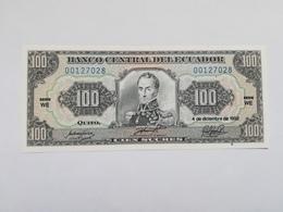 ECUADOR 100 SUCRES 1992 - Ecuador