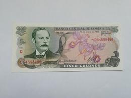 COSTA RICA 5 COLONES 1992 - Costa Rica