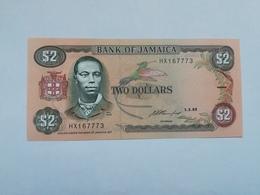 GIAMAICA 2 DOLLARS 1993 - Giamaica