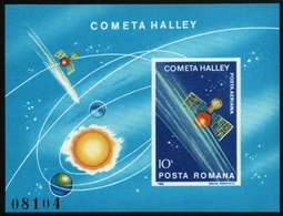 Rumänien 1986 - Mi-Nr. Block 222 ** - MNH - Raumfahrt / Space - 1948-.... Republiken