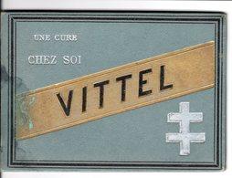 """CARNET HUMORISTIQUE SUR LES BIENFAITS D'UNE CURE DE VITTEL """"CHEZ SOI"""" - CL.23.56 - Santé"""
