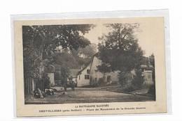 70 - BREVILLIERS ( Près Belfort ) - Place Du Monument De La Grande Guerre - Autres Communes