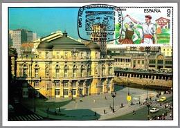100 Años TEATRO ARRIAGA - 100 Years Arriaga Theatre. Bilbao, Vizcaya, Pais Vasco, 1990 - Teatro