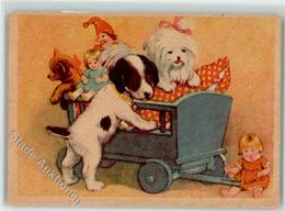 39272084 - Leiterwagen Hunde Welpen Kasper Teddybaer - Games & Toys