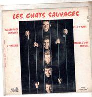 Pochette Sans Disque Sous Plastique - Les Chats Sauvages - Pathé EG 662 - 1963 - Accessories & Sleeves