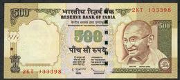 INDIA INDE P99f1 500 RUPEES 2010 #2KT  Sign.20 UNC. - India