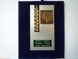 GP 2019 - 1200   FRANCIA - ITALIA   VICHY  16-9-1973  XXX - Kleding, Souvenirs & Andere
