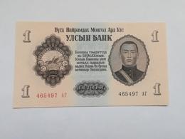 MONGOLIA 1 TUGRIK 1955 - Mongolia