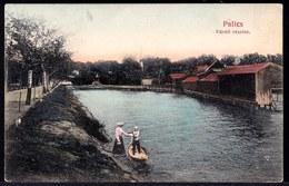 CPA SERBIA * PALICS - Fürdö Részlet * - Sent To Pecs ( Hongaria ) - Took 1 Year To Arrive !! - Serbia