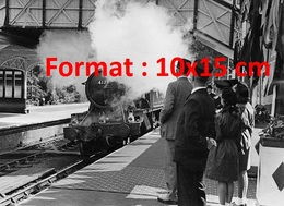 Reproduction D'une Photographieancienne De La GWR 5101 Class 4179 En Gare De Boadmin Road En 1950 - Reproductions