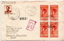 Postal History Cover: Brazil Stamps On Cover - Geography