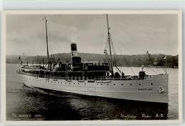 52941574 - Schiff S/S Birger Jarl Stockholms Rederi A.-B. Svea Schweden - Paquebots