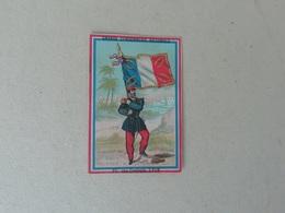 Chromo Ancien Publicitaire Grande Cordonnerie Nationale, Lyon, Vieux Papier - Other