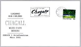 Museo De Arte Moderno - Exposicion MARC CHAGALL. Zurich, Suiza, 2001 - Arte