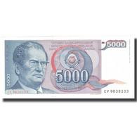 Billet, Yougoslavie, 5000 Dinara, 1985, 1985-05-01, KM:93a, SUP - Yougoslavie