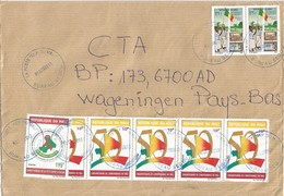 Mali 2013 Segou AIDS HIV 195f Independence 10f Pioneer 375f (2001) Cover - Enfermedades