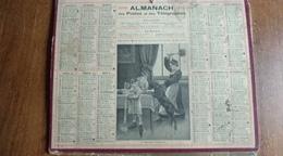 Calendrier Des Postes Et Des Télégraphes 1919 -  Un Dejeuner Compromis - Calendars