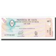 Billet, Argentine, 1 Austral, 1987, 1987-12-31, KM:S2612c, SUP - Argentine
