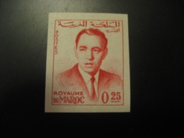 Royaume Du Maroc 0,25 King Imperforated Stamp Proof MOROCCO - Morocco (1956-...)