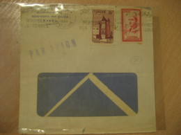 OUJDA 1960 2 Stamp On Cancel Air Mail Cover MOROCCO - Morocco (1956-...)