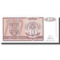 Billet, Bosnia - Herzegovina, 10 Dinara, 1992, 1992, KM:133a, SUP - Bosnia And Herzegovina