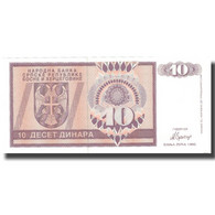 Billet, Bosnia - Herzegovina, 10 Dinara, 1992, 1992, KM:133a, SUP - Bosnie-Herzegovine