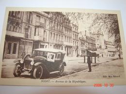 C.P.A.- Niort (79) - Avenue De La République - Maison A.Gorin - 1935 - SUP (BK 36) - Niort