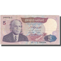 Billet, Tunisie, 5 Dinars, 1983, 1983-11-03, KM:79, TB+ - Tunisia