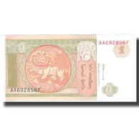 Billet, Mongolie, 1 Tugrik, 1993, 1993, KM:52, SUP - Mongolie