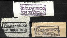 203 - HAITI - 1800 - PREPHILATELIC CANCELS - FORGERIES - FAUX - FAKES - FALSES - Timbres