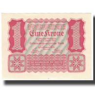 Billet, Autriche, 1 Krone, 1922, 1922-01-02, KM:73, SPL+ - Austria