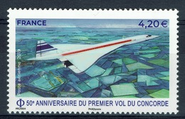 "France, Plane ""Concorde"", Turbojet, 50th Anniv., 2019, MNH VF  Airmail - Airmail"