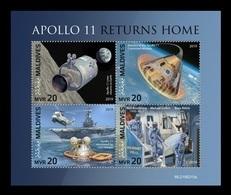 Maldives 2019 Mih. 8294/97 Space. Apollo 11 MNH ** - Maldivas (1965-...)