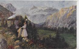 AK 0239  Natzler , Joh. - Naturfreunde / Künstlerkarte Um 1917 - Malerei & Gemälde