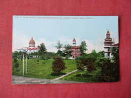 State Capitol Willamette University  & Womens College  Salem- Oregon    Ref 3363 - Salem