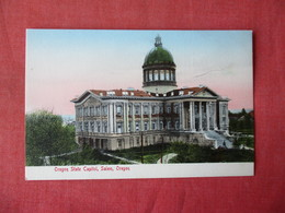 Oregon State Capitol   Salem- Oregon    Ref 3363 - Salem